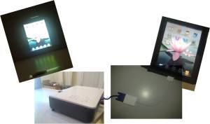 ipad projection